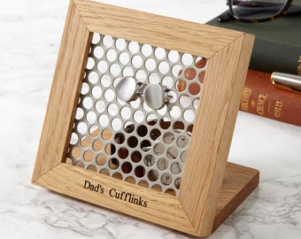 Hive Personalised Cufflink Stand