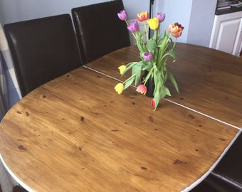 Sale *** item of the week ****Extendable farmhouse Dining Table **must go**