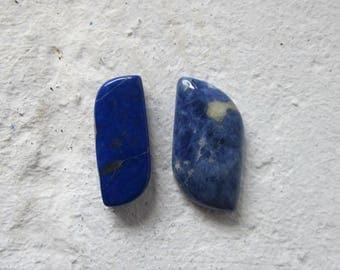 Lapis Lazuli. Lot 2 Pcs. S0446