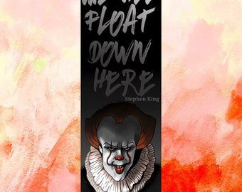 IT - Double Sided Bookmark