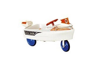 Miniature Dollhouse Jolly Roger Pedal Car 1:12 Scale