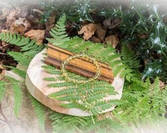 Citrine pearl bracelet