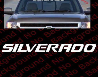 Large Truck Decal Etsy - Chevy windshield decals trucks