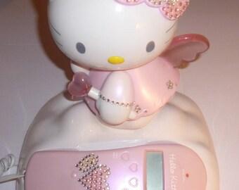 Vintage Sanrio Hello Kitty Angel phone land line, cord and caller ID