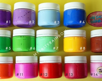 The Vivid Collection, Colored Slime, Scented Slime
