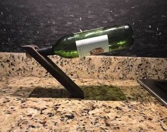The Hole In Wine Bottle Holder