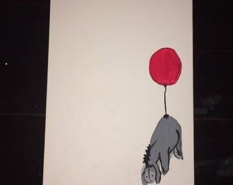 Eeyore Canvas Painting