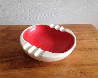 Large ceramic - Italian design from the 60-70s - vintage ashtray