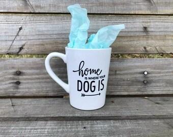 Home Is Where Your Dog Is- Coffee Mug