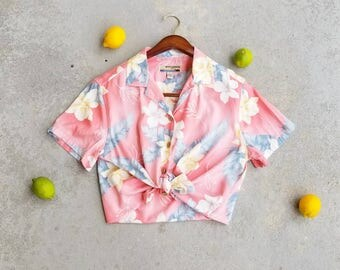 Vintage Hawaiian Button Down Shirt