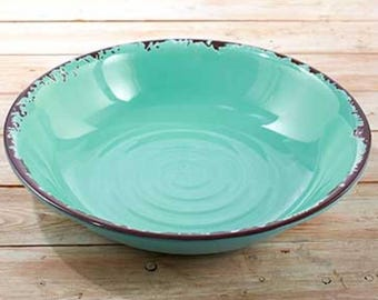 Rustic Country Large Bowl