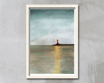 Lighthouse Art Print, Lighthouse Print, Lighthouse Decor, Lighthouse Wall Art, Lighthouse Art Prints, Lighthouse Poster, Gift, APIRO PRINTS