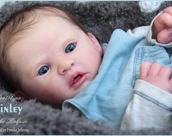 Finley by Heike Kolpin Limited Edition Reborn Babies. Lifelike Custom OOAK. Girl Boy Baby Doll. JULY 2018 Orders. Payment Options Available!