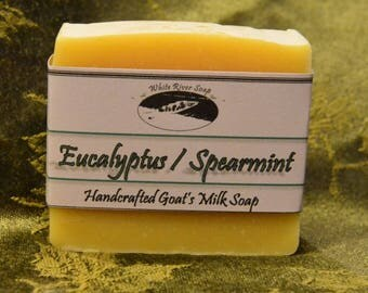 Goats Milk:  Eucalyptus / Spearmint