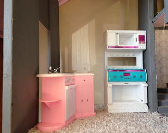 Vintage Barbie Kitchen