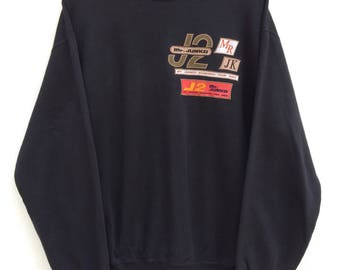 Vintage Mr. Junko Crewneck Sweatshirt / Junko Koshino / For Men / Designer / Spell out Logo /Sportwear