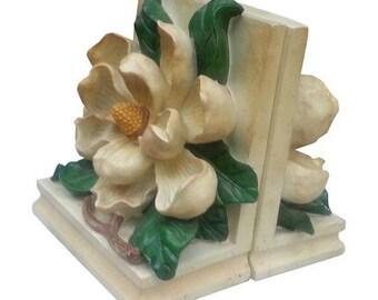 Flower Motif Bookends