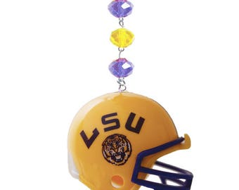 LOUISIANA STATE Tigers *Football Helmet* MAGNETIC Ornament,Lsu Home Decor,Lsu Tigers Decor,Lsu Tigers,Lsu Ornament,Tigers,Lsu gifts