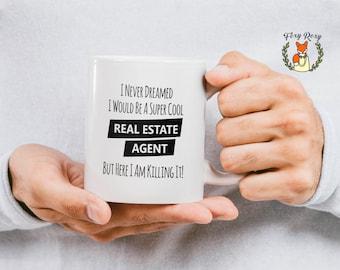 Real Estate Agent, Coffee Mug, Realtor Gift, Real Estate, Realtor Mug, Real Estate Gift, Gift For Realtor, Realtor Closing Gift, CM-114