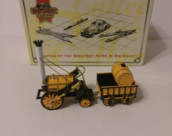 """Vintage Matchbox 1995 Models of Yesteryear """"The Rocket"""" Stephenson Rocket Train Die Cast limited Edition Replica"""