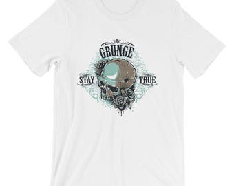 Grunge Stay True #3Short-Sleeve Unisex T-Shirt