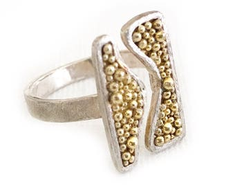 Sterling Bubble Stretch Ring