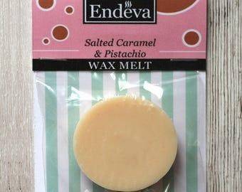Salted Caramel & Pistachio Wax Melt Wax Tart