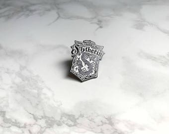 Harry Potter inspired Slytherin pin