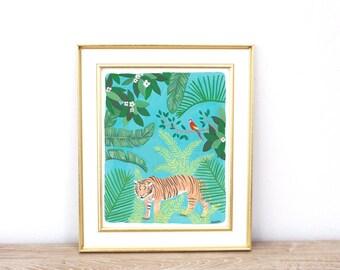 Wild Tiger in Jungle
