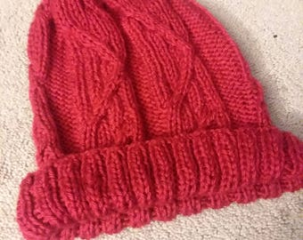 Men's Cabled Beanie