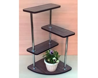 "Free ship! Plant Stand ""L6"" . Flower stand Indoor plant stands Plant holder Plant table Stand for flowers Flower shelf Shelf Corner shelf"