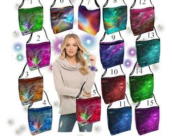 Galaxy, Space & Stars, Tote Bags, Nebula, Day Tote Bags, Beach Bag, Bag Fashion, Grocery Bag, Reusable Bag, Shoulder Bag, Bridesmaid Gift