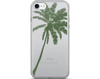 Palm Tree iPhone 7 Case • Tropical Phone Case • Cute iPhone 6 Case • Beach iPhone 5 Case • PF00 «