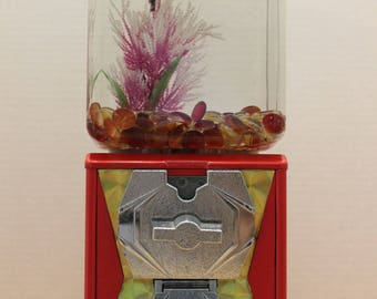 Vintage Gum Ball Machine Fish Tank