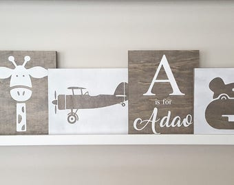 Custom Wood Canvas Signs & Pictures