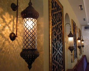 Sconce lights etsy wall lamp wall light wall sconce turkish light moroccan lighting moroccan mozeypictures Images