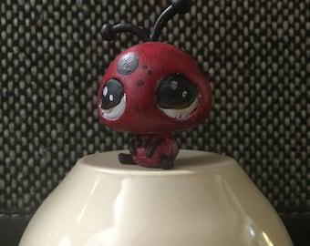 Super cute Polka dot ladybug-