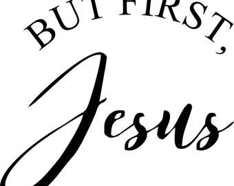 Jesus Saying SVG