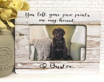 Personalized Pet Loss  Dog Frame  Dog Loss Frame  Pet Loss Frame  Pet Loss Gift Idea  Pet Memorial Frame  Remembrance Frame  Picture Frame