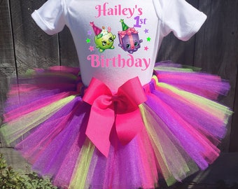 Shopkins Birthday Outfit, Shopkins First Birthday Outfit, Shopkins 1st, 2nd, 3rd, 4th, 5th Birthday Outfit, Shopkins Outfit, Shopkins shirt