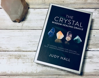 Crystal Wisdom Healing Oracle Oracle Reading Single Insight Card Past Present Future Final Outcome Spread