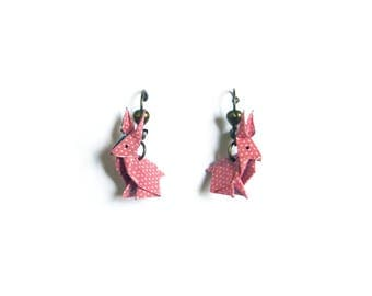 "Earrings ""Rabbit"""