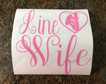 Linewife Decal