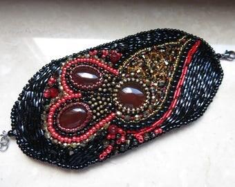 Cuff embroidery