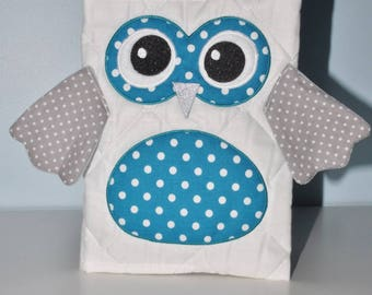 birth cover health OWL custom embroidered name
