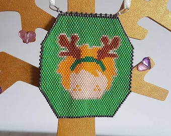Ron Weasley - Harry Potter Christmas Ornament - Hand Beaded