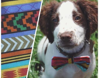 Aztec - Furry & Fancy Bow Tie