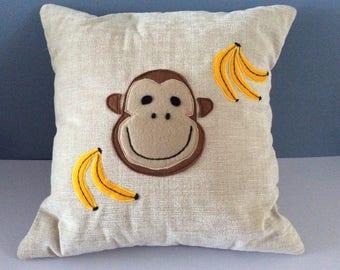 Monkey cushion