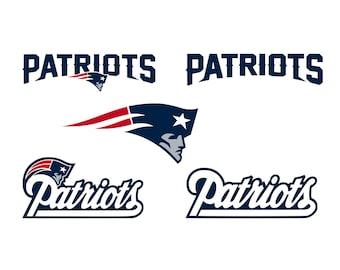 New England Patriots Svg, Patriots Clipart, New England Football, New England Patriots Cricut, Cutting Files