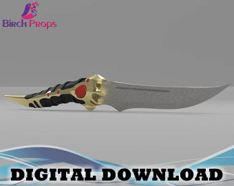 Catspaw Blade Game of Thrones Arya Stark - Download Only (STL 3D Files)